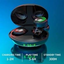10pcs/KIROGI X28 Wireless Bluetooth 5.0 In ear Real Battery Earphone stereo HI FI Earphone with Mic Hands Free