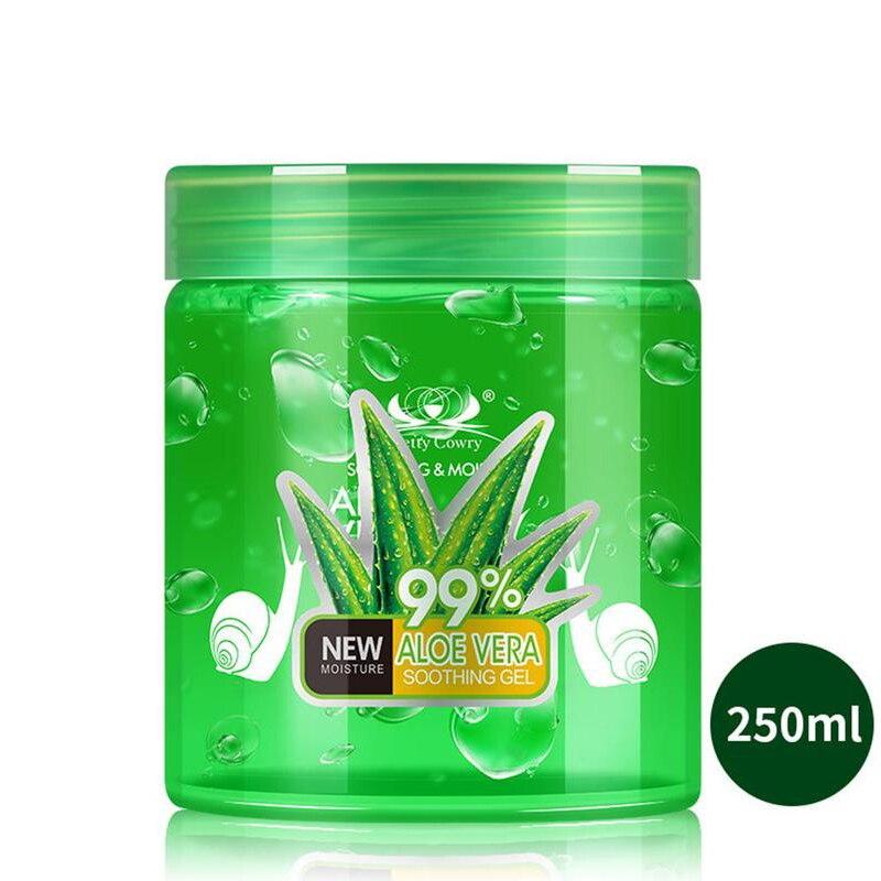 250ML Pure Aloe Vera Gel Hyaluronic Acid Removal Acne Plants Base Primer Sun Repair Moisturizing Skin Care Face Cream