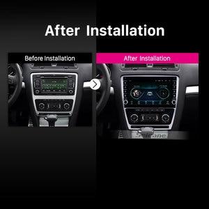 Image 5 - Seicane 10,1 дюймовый Android 9,1 ОЗУ 2 Гб ПЗУ 32 ГБ для 2007 2011 2012 2013 2014 SKODA Octavia автомобильный GPS Радио Стерео головное устройство плеер