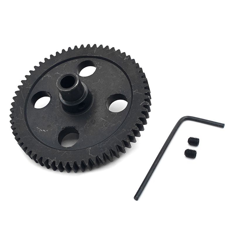 62T Reduction <font><b>Metal</b></font> Gear 0015 For <font><b>WLtoys</b></font> <font><b>12428</b></font> 12423 1/12 RC Car Crawler Short Course Truck Upgrade Parts R7RB image