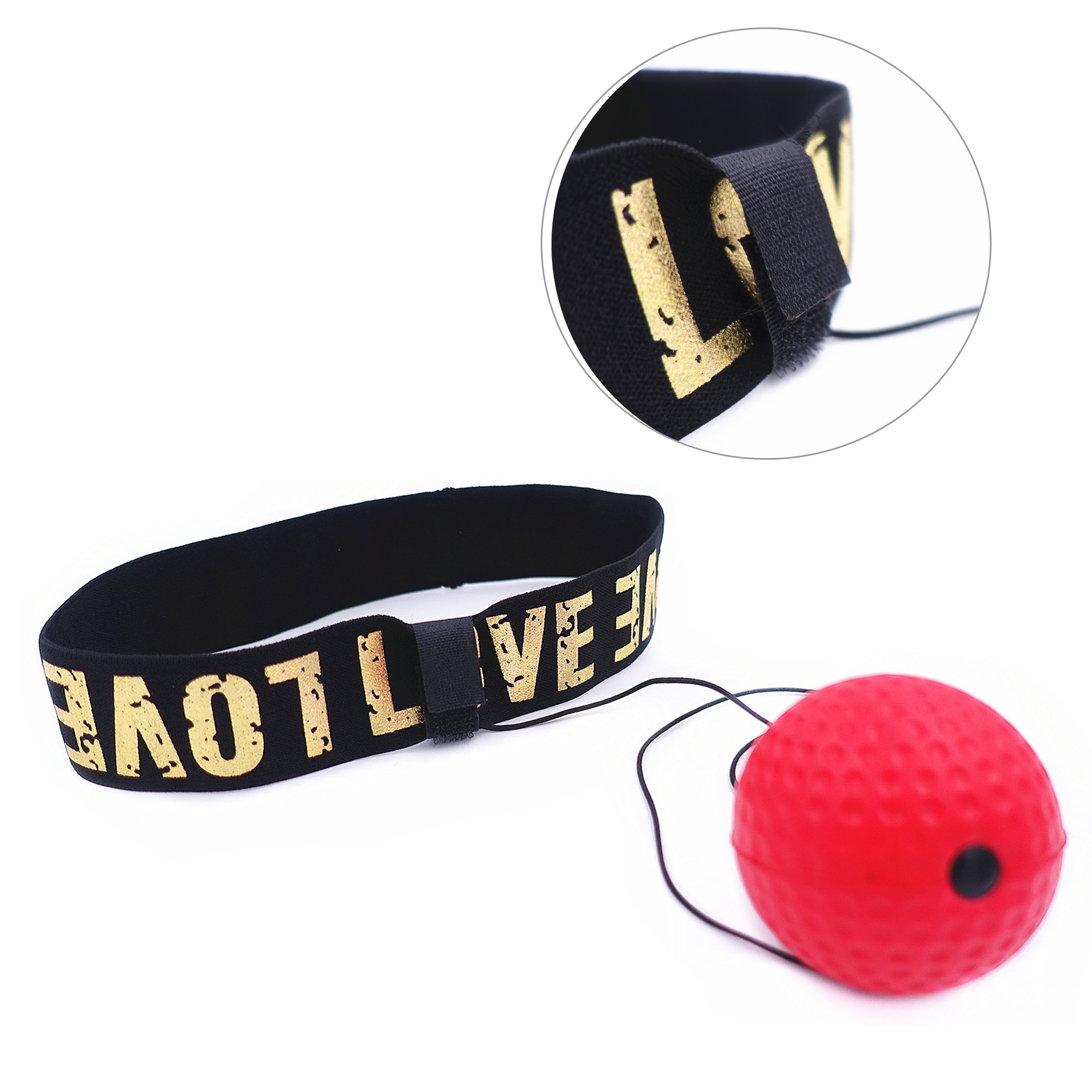 Boxing Reflex Speed Ball with Headband MMA Muay Thai Fight Ball For Drop shipping Exercise Improving Speed Reactions Punch 2
