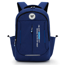 Disney Elementary School Bag 7-15 Years Old Boy Mickey Backpack Children's School Bag Large Capacity Kids Backpack School Bags