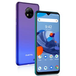 OUKITEL C19 Android 10,0 MTK6737 Четырехъядерный 4G смартфон 6,49 дюймHD + 2 Гб ОЗУ 16 Гб ПЗУ 1560*720 4000 мАч отпечаток пальца ID мобильный телефон