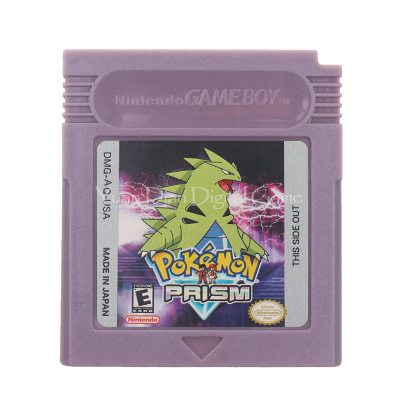 For Nintendo GBC Video Game Cartridge Console Card Poke Series Prism English Language Version