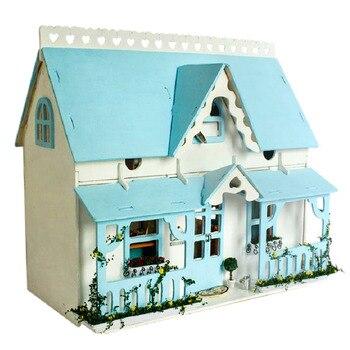 Interesting Dollhouse Rocky Garden 3D Assembly DIY Household Creative House Kit