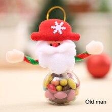 Рождественская ваза для конфет Рождественский Санта-Клаус/Снеговик/лось украшения для упаковки поставки WWO66
