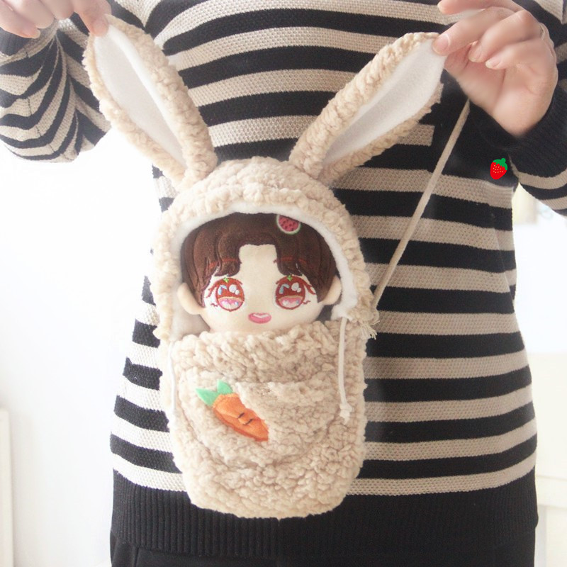 [MYKPOP]KPOP Doll's Clothes And Accessories: Shoulder Bag (without Doll) For 20cm Dolls  EXO/Bangtan Fans SA20200606