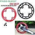 Инструмент для демонтажа цепи велосипеда (колеса 104 BCD 32T 34T 36 т 38 40 42 т 48 передняя Звездочка MTB горный велосипед 9/10/11 Скорость для shi-mano SLX XT диам...