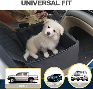 Image 4 - 2 in 1 Car Front Pet Car Seat Cover Waterproof Puppy Basket Anti Silp Pet Car Carrier Dog Cat Car Booster Outdoor Travel