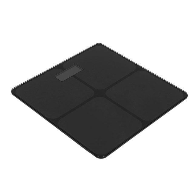Weighing Scale Digital Scales Electronic Scale Home Dining Accessories Premium Accurate Tempered Glass Black Fitness Lcd