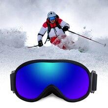 Ski Snowboard Lens Goggles Skiing-Eyewear Snow-Protection-Glasses Anti-Fog Women UV400