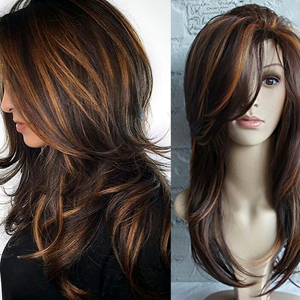 Fashiolong Black Women's Wigs Synthetic