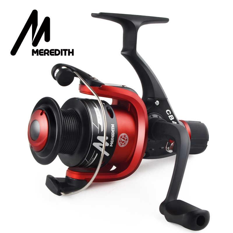 Meredith CB40 ค่าใช้จ่ายที่มีประสิทธิภาพสูงสำหรับเริ่มต้น Lure Fisher 1BB Ratio 5.2: 1 พลาสติกราคาถูก SPOOL SPINNING Fishing REEL