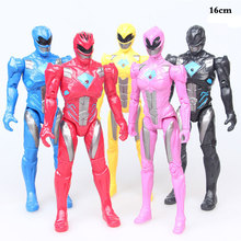 цена на 17cm Two styles Action Figure Power Dinosaur team Model Rangers Action Figure with Led Light toy