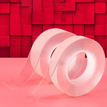 1M/3M/5M Nano Tape Double Sided Tape Transparent Reusable Waterproof Adhesive Tape Cleanable Home Gel Double Sided Tape
