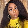 Натуральные волосы, курчавые прямые парики, бразильские волосы, парики Yaki из человеческих волос для чернокожих женщин, парик полностью маши...