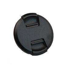 30 יח\חבילה גבוהה איכות 40.5 49 52 55 58 62 67 72 77 82mm מרכז צבוט Snap על כובע כיסוי עבור SONY מצלמה עדשה