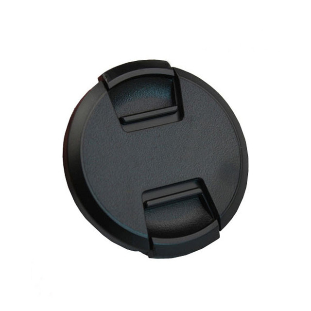 30pcs/lot High quality 40.5 49 52 55 58 62 67 72 77 82mm center pinch Snap on cap cover for SONY camera Lens