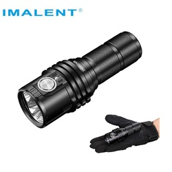 IMALENT MS03 linterna LED XHP70 Gen.2 13000Lumen EDC linterna recargable con batería 21700 para focos de Camping