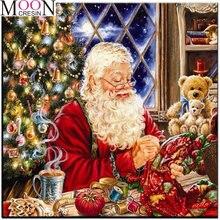 2020 Рождество снег 5d diy алмазная живопись мультфильм Санта