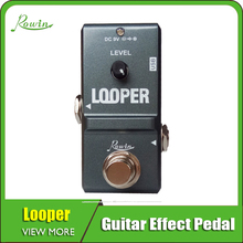 цена на Rowin Tiny Looper Electric Guitar Effect Pedal 10 Minutes of Looping Unlimited