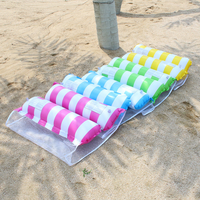 Inflatable Floating Beach Swimming Air Mattress Pool Floats Floating Lounge Sleeping Bed for Water Sports Party Dropshipping 5
