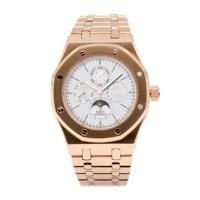 Top brand Luxury men watch automatic Mechnical movment Watch Fashion Business Watch 30m Waterproof Moonphase Wristwatch