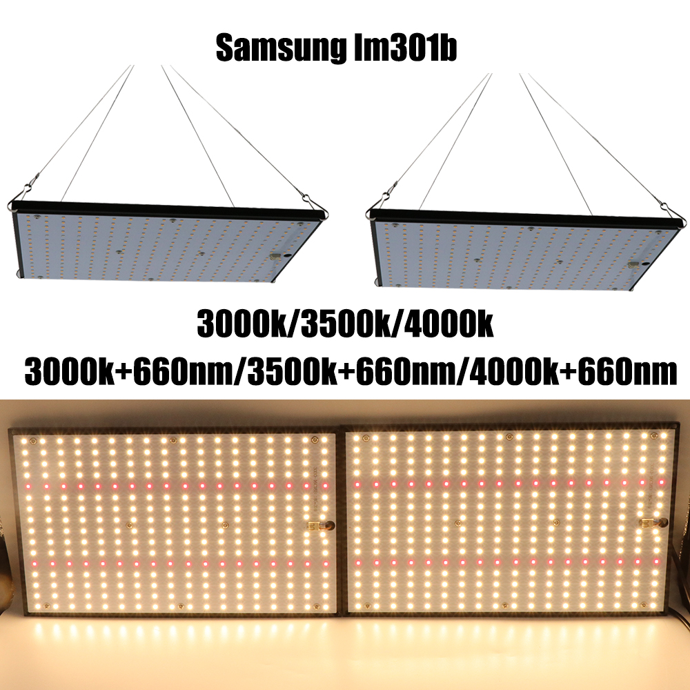 Super Bright 120W 240W Led Grow Light Board Full Spectrum Samsung LM301B SK 3000K 3500K 4000K 660nm Meanwell Driver DIY