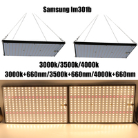 Super Bright 120W 240W Led Grow Light Board Full Spectrum Samsung LM301B SK 3000K 3500K 4000K 660nm Meanwell Driver DIY