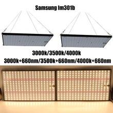 Super jasne 120W 240W oświetlenie led do uprawy pokładzie pełne spektrum Samsung LM301B SK 3000K 3500K 4000K 660nm sterownik meanwell DIY