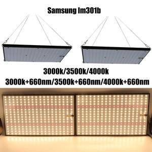 Image 1 - Tablero de luz Led de cultivo Super brillante, 120W, 240W, espectro completo, Samsung LM301B SK 3000K 3500K 4000K 660nm Meanwell Driver DIY