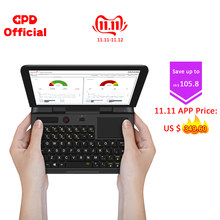 Cheap and Good Quality Impact-resistant Windows 10 Pro 6 Inch Multi-Interface Small Portable Laptop(China)