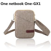 2020 nowa oryginalna torba na ubrania skrzynki pokrywa dla 7 cal jeden netbook one-gx 1 laptop dla one-netbook One-GX1 torba skrzynki pokrywa tanie tanio WLWFWZF Torby na ramię Laptop messenger Unisex One netbook One-GX1 7 inch zipper Fasion NYLON Stałe