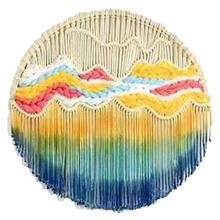 Wall Hanging Round Lace Tapestry Hoop Art Handmade Home Decoration Living Room Gifts