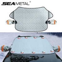Windshield Cover Car Snow Cover Car Windshield Cover Snow Protector Ice Blocked Front Window Protector Exterior Auto Accessories