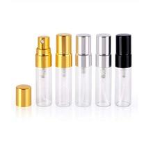 5ML Portable Refillable Perfume Bottle Empty Pump Sprayer Atomizer  Rechargeable Empty Glass Bottle monin syrup 100cl bottle pump for perfect 5ml measures 1 0 litre