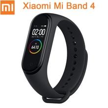 Original Xiaomi Mi Band 4 Smart Miband 3 Color AMOLED Screen Bracelet Heart Rate Fitness Tracker Bluetooth5.0 Waterproof Miband4