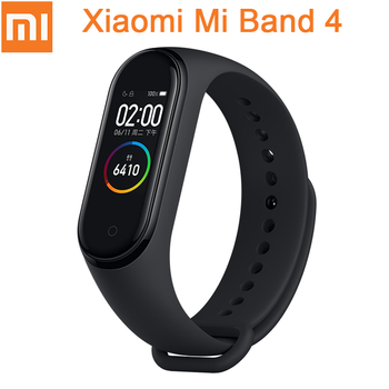 Original Xiaomi Mi Band 4 Smart Miband 3 Color AMOLED Screen Bracelet Heart Rate Fitness Tracker Bluetooth5.0 Waterproof Miband4