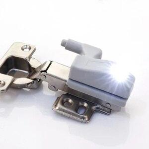 Image 5 - Lampe led pour placard, éclairage dintérieur, allumage automatique, charnières, idéal pour une armoire, une cuisine ou un placard, DC 12V, 4 pièces/lot