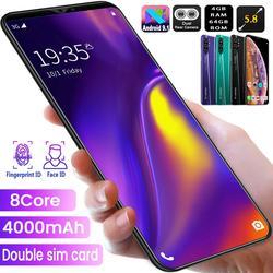 Temk Note10 3G Smartphone 5.8 19:9 Android 10 4Gb Ram 64Gb Rom 8 + 16Mp Camera 8 Core Dual Sim Unlock Wifi Mobiele Telefoons Mobiele Telefoon