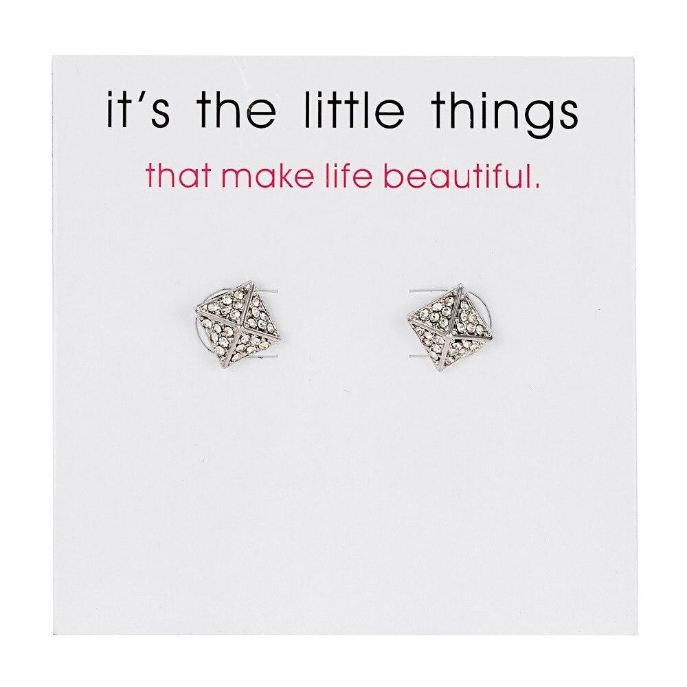 12 Pairs/set Stud Earrings Set With Card Transparent Zircon Balls Love Flowers Earrings Women Imulated Pearl Earrings Jewelry 107