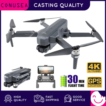 CONUSEA F11 Pro Professional Drone 4K with 2-Axis Gimbal HD Camera GPS Drones FPV Brushless Motor RC Quadcopter VS SG906 Pro 2