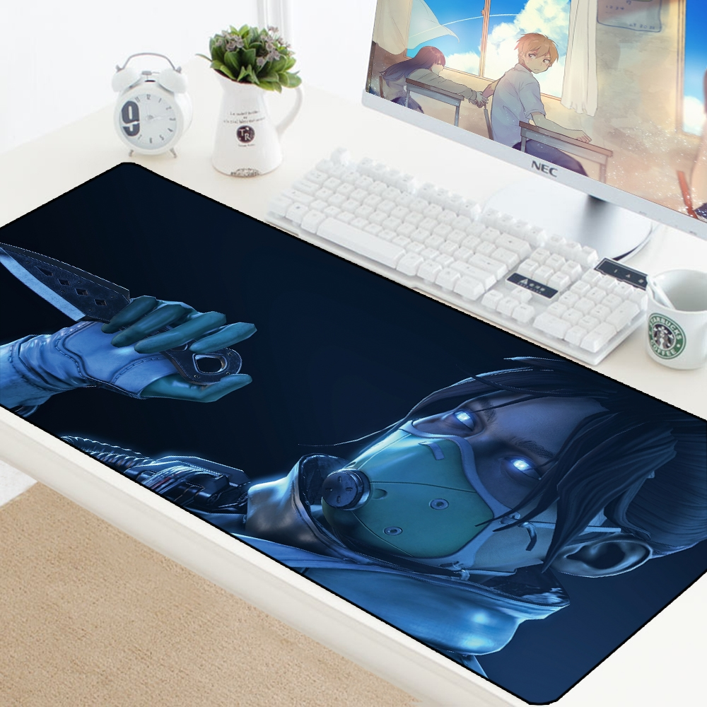 Apex Legend Keyboard Mousepad Adorable Computer Gaming XL Mouse Pad Speed Padmouse Large Grande Mouse Mats Office Desk Protector