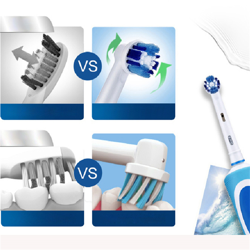 Oral B Vitality Electric Toothbrush Rotating Rechargeable Automatic Timer 1 Toothbrush Handle 1 Brush Head Pro 500 Series Braun