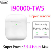 i90000 Tws 1:1 Wireless Bluetooth Headsets 3 Real Battery Super Bass Earphone for IPhone Android Samsung
