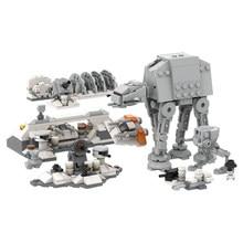 Stern Raum Guerres Micro Angriff auf Hoth ZU-AT et AT-ST Bausteine Ziegel MOC-44946 Poupe Série Guerres GPM blcke 567 stcke Spielzeug
