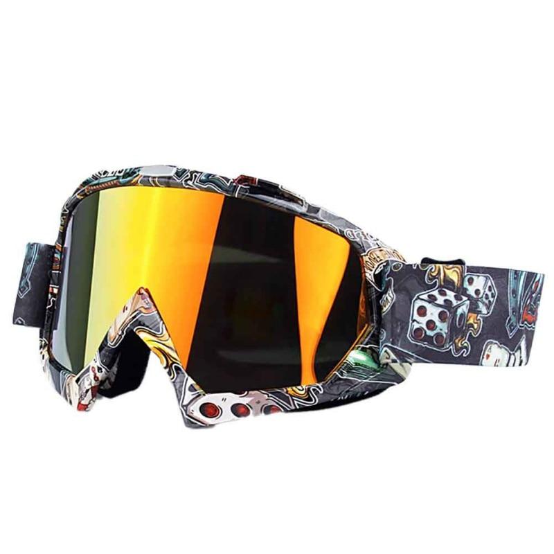 Anti fog Cycling ski goggles double layers big ski mask glasses skiing men women Motorcycle snowboard goggles|Cycling Eyewear| |  - title=