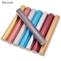 She Love A4 Hot Stamping Foil Paper Holographic Laser Heat Transfered Paper Foil for Leather Garment DIY Handmade Crafts