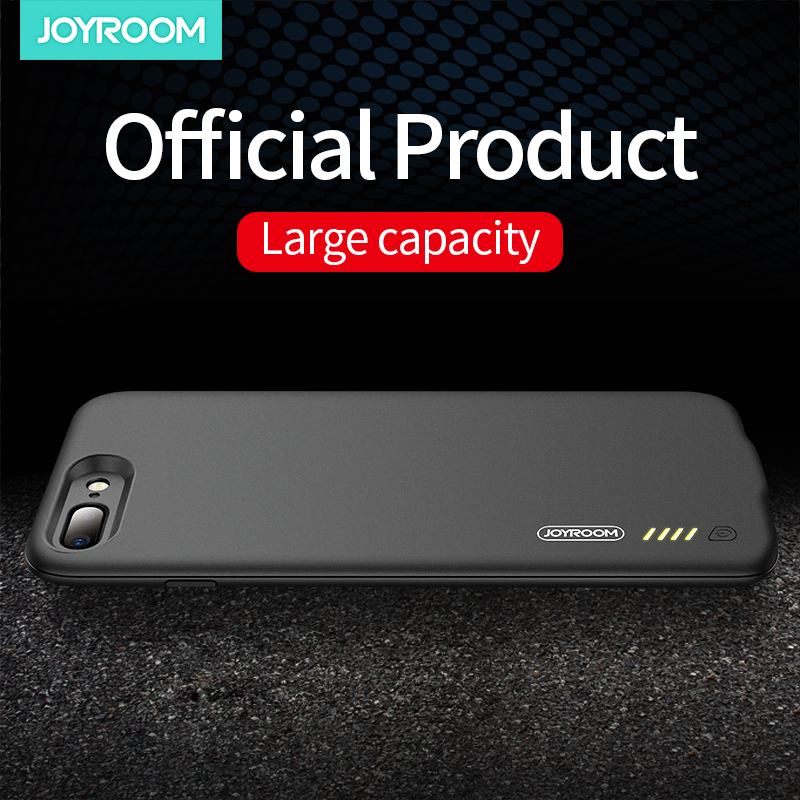 Joyroom Battery Charger Case For IPhone 7 8 6 Plus 7500mAh Charging Power Bank Case Phone Charger For IPhone 7 X XS Battery Case