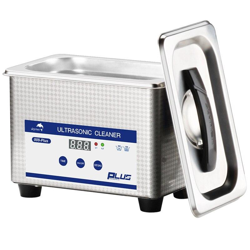 Skymen Ultra sonic очиститель для ванны ювелирные металлические детали резаки камень зубная щетка PCB Маникюрный Инструмент Ultra sonic Очиститель